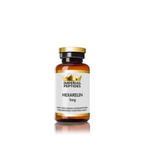 HEXARELIN 5mg for sale at Imperial Peptides Research Peptides