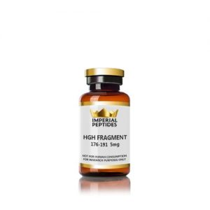 HGH FRAGMENT 176 191 5mg for sale at Imperial Peptides Research Peptides