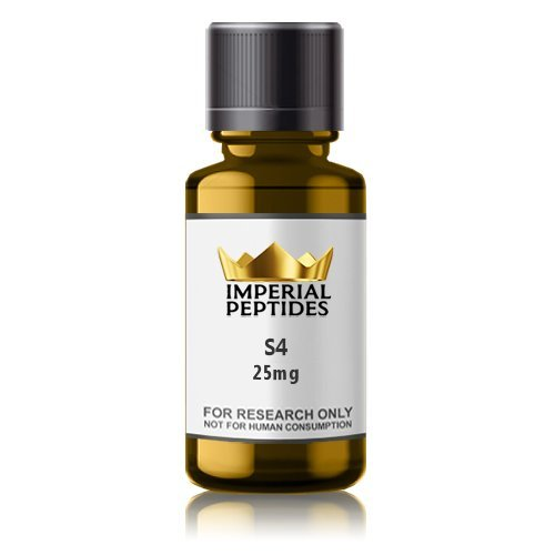 S4 25mg for sale at Imperial Peptides Research Chemicals