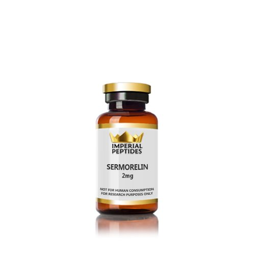 Sermoralin 2mg for sale at Imperial Peptides Research Peptides